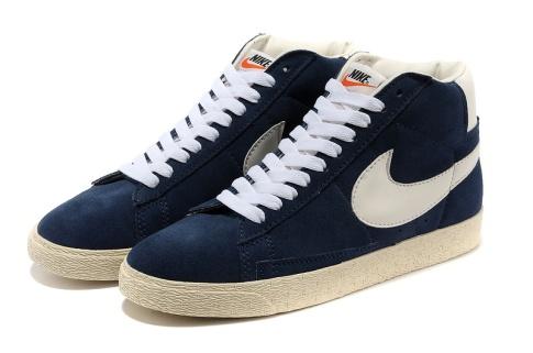Nike Blazer High Anti-Fur Men Dark Blue White_1_LRG