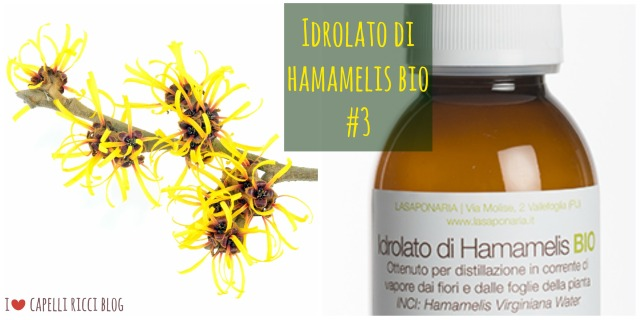 Idrolato di Hamamelis bio
